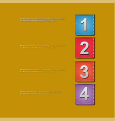 Presentation slide template editable at your vector