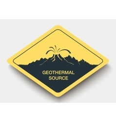 Sign geothermal source and energy vector