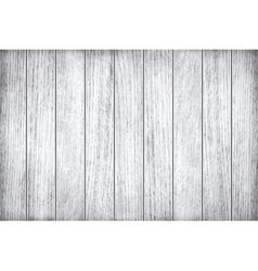White grey wooden texture old painted planks vector