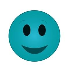 smile emoticon icon vector image