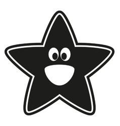 star stencil to the nursery vector image vector image
