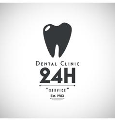 Dental Clinic Logo vector image vector image