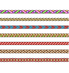 Fashion cords set vector