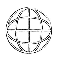 Global sphere symbol vector