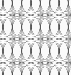 Gray clubs striped vector image