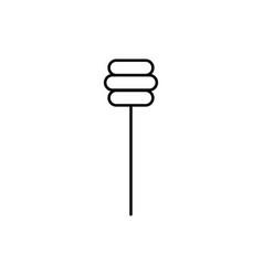 honey stick icon vector image