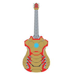 Iron guitar vector