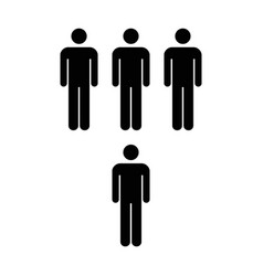 People icon - men vector