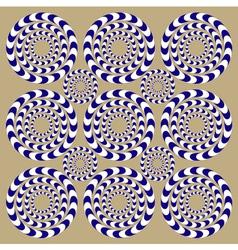 Spin circles - vector