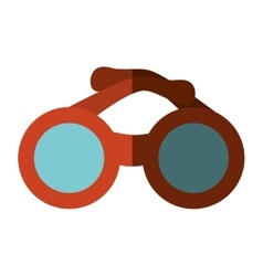 sunglasses accesory isolated icon vector image