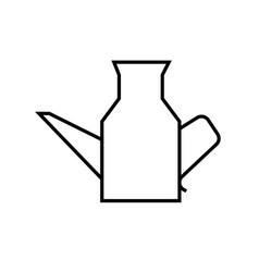jug icon vector image vector image
