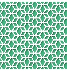 Simple Hex Pattern with Realistic Shadow for your vector image
