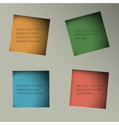 Minimalistic background vector image vector image