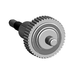 Central gear vector