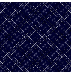 Dark blue seamless mesh pattern vector