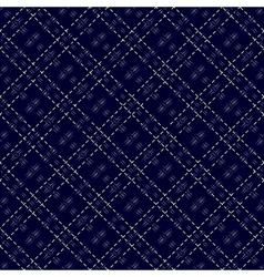 Dark blue seamless mesh pattern vector