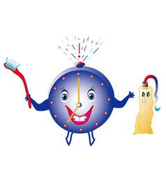 dental hygiene vector image