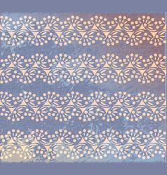 Polka dot swirl lines burlap seamless pattern vector