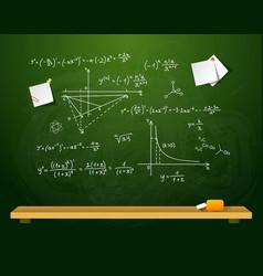 Green school board vector image vector image