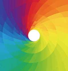 Abstract colorful spiral background vector