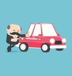 Concept car loans vector
