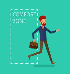 Concept comfort zone vector