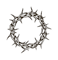 Crown thorns image vector