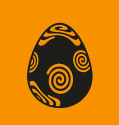 Easter eggs premium icon download template vector
