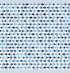 Geometric pattern with triangles and polygons vector