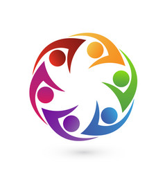 group of friends people icon vector image