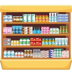 Pharmacy medicine vector
