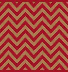 red brown chevron retro decorative pattern vector image