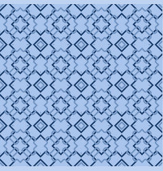 Retro blue seamless wallpaper vector