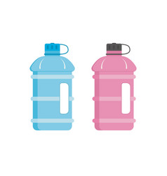sport water bottle with a handle vector image