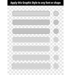 Button Graphic Style vector image vector image