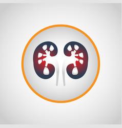 kidney failure logo icon design vector image vector image