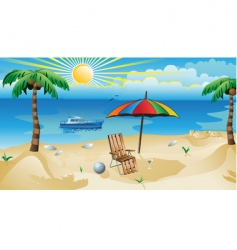 recreation background vector image vector image