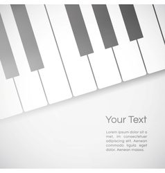 music background vector image