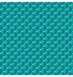 Chinese blue seamless pattern dragon fish scales vector image