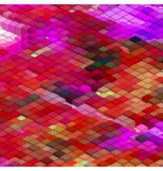 Abstract 3d colorful mosaic background EPS 8 vector image