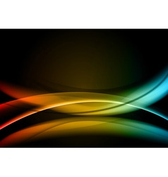 abstract background rainbow color vector image