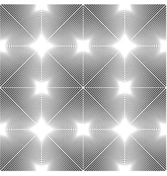 Design seamless monochrome grating pattern vector