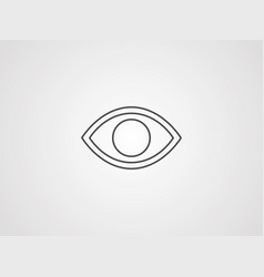 observe icon sign symbol vector image