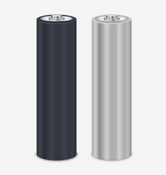 Realistic blank battery vector