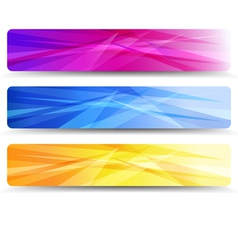 Web banners headers - banner header vector