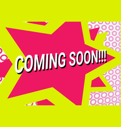 funky banner comics background vector image