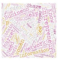 Malaysian women entrepreneurs text background vector