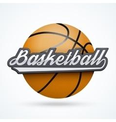 Premium Baseball label vector image vector image