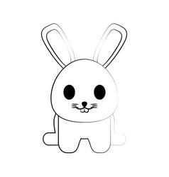 rabbit ilustration vector image