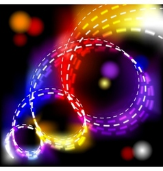 abstract shiny spiral explosion background vector image